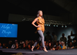 The live runway fashion show at the Western Design Exhibit + Sale Opening Preview Party always draws a crowd at the Snow King Events Center in Jackson Hole.