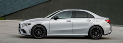 2019 Mercedes-Benz A-Class Sedan exterior driver side profile