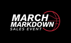 March Markdown Sales Event logo and text