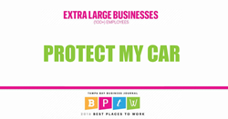 Protect My Car 2019 Best Places to Work Honoree