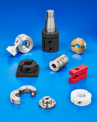 Applications include stops and spacers for guides, rollers, sensors, and many other mechanical and structural mounting components.