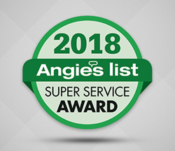 Angie's List Super Service Award 2018 for Sir Grout Central New Jersey