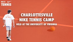 Charlottesville Nike Tennis Camp held at the University of Virginia