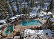 Antlers at Vail's sparkling outdoor pool-with-a-view offers year-round fun and relaxation.