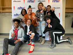 Young entrepreneurs at NFTE New England's 12th Youth Entrepreneurship Summit #YESNFTE