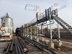 The new terminal, served by Norfolk Southern and CSX Railroads, will initially provide 120,000 gallons of propane storage, along with a four-position rail rack and two truck loading racks.