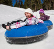 Woolly's Tube Park offers snowy fun for non-skiers, while Sierra Nevada Resort offers famously family-friendly Mammoth Lakes lodging (photo courtesy Mammoth Mountain).