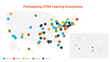 STEM Learning Ecosystems Grows by More than 20 Percent