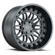 Black Rhino Truck Wheels - Fury in Matte Gunmetal