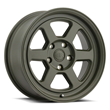 Black Rhino Truck Wheels - Rumble in Olive Drab Green