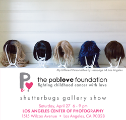 Join us April 27th at Los Angeles Center of Photography for a community event celebrating the photography of young adults living with cancer.
