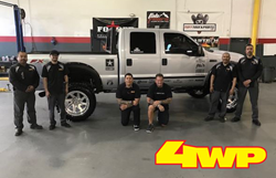 4 Wheel Parts store in El Paso, Texas, joins forces with off-road retailer and manufacturers to give U.S. Army Corporal his dream truck