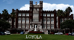Campers can experience the beautiful campus of Loyola University New Orleans while attending volleyball camp.
