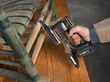 WORX 20V Sandeck 5-in-1 Multi-Sander includes detail sanding pad with finger and contour attachments for sanding in hard-to-reach areas.