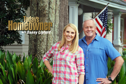 "Hosts of ""Today's Homeowner"" TV, Chelsea Lipford Wolf & Danny Lipford"
