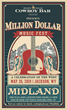"The ""Million Dollar Music Fest,"" presented by the Cowboy Bar and co-sponsored with the Jackson Hole Chamber of Commerce, will feature a lineup of musical entertainment during Old West Days in May."