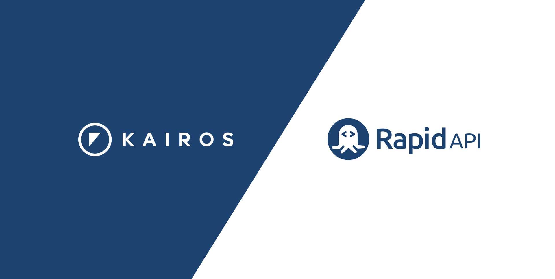 Kairos Announces New Partnership With RapidAPI, Bringing