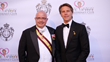 Robert P. Ruffolo, Lt. Col. (Ret), Regional Representative of the Savoy Orders in Chicago, with HRH Prince Emanuele Filiberto of Savoy