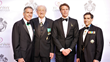 Event Chair Daniel J. McClory, Grand Patron Richard Cuneo, HRH Prince Emmanuel Philibert of Savoy with Savoy Foundation Chairman Carl J. Morelli and US Delegate of the Savoy Orders