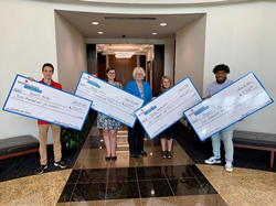 georgia united foundation awards scholarships to four georgia high school students