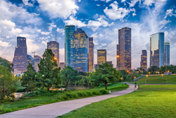 Houston's downtown office buildings