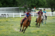 Live, turf horse races are one of the many features of this fabulous event!