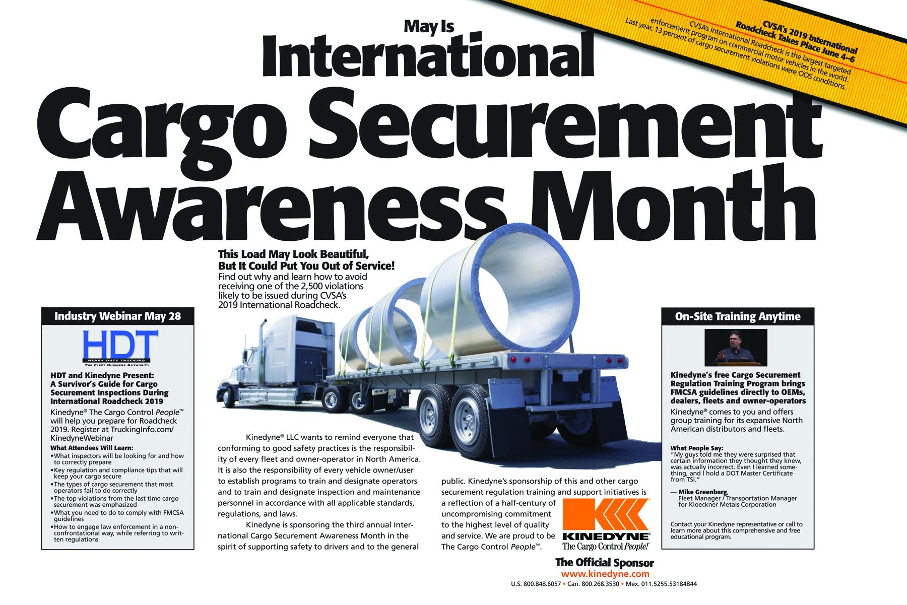 Kinedyne Sponsors Third Annual International Cargo Securement