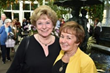 Guests Barbara Bauer and Trudi DeDonato enjoying the Annual Donor Reception at the Botanical Garden.