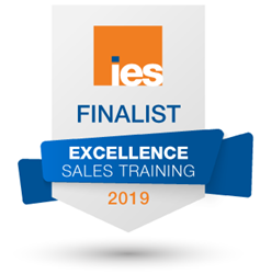 Finalist Badge for IES Sales Training 2019