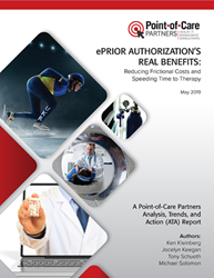 ePrior Authorizations Real Benefits Report Cover