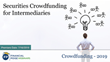 "Financial Poise™ Announces ""Securities Crowdfunding for Intermediaries,"" a New Webinar Premiering July 16th at 3:00 PM CST through West LegalEdcenter™"