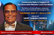 Major Rally Tomorrow with Minister Farrakhan May 9 St. Sabina Church
