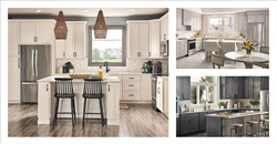 Drawing inspiration from freshly painted colors, Express Kitchens introduced new range of kitchen cabinets and door-styles.