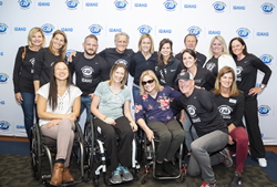 Challenged Athletes Foundation Leadership; Kristin Armstrong, 3x Olympic Gold Medalist; Muffy Davis, 7x Paralympian and Idaho State Representative; CAF Athletes and Guests.