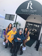 Laker Girls with Regency Palms Long Beach residents