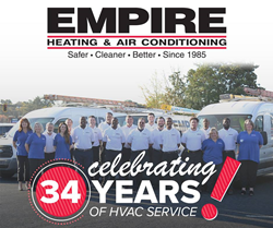 34th Anniversary at Empire Heating and Air Conditioning
