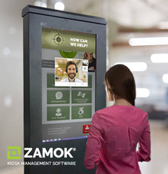 Zamok Kiosk Software's New Video Chat Features