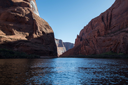 The Colorado River downstream of Glen Canyon Dam.