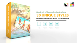 Final Cut Pro X Plugin ProChapter 3D Summer from Pixel Film Studios