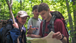 NOLS Adventure courses expose students to problem-solving and communications skills to shape their leadership style (Photo by Kirk Rasmussen/NOLS).