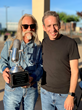 Alex Heiche presents Dean Dillion with the Sound Royalties' BillionAire Award.