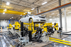 Roush's , first-of-its-kind durability and road simulation test facility allows businesses to test the structural reliability of vehicles and vehicle components early in the product design timeline.