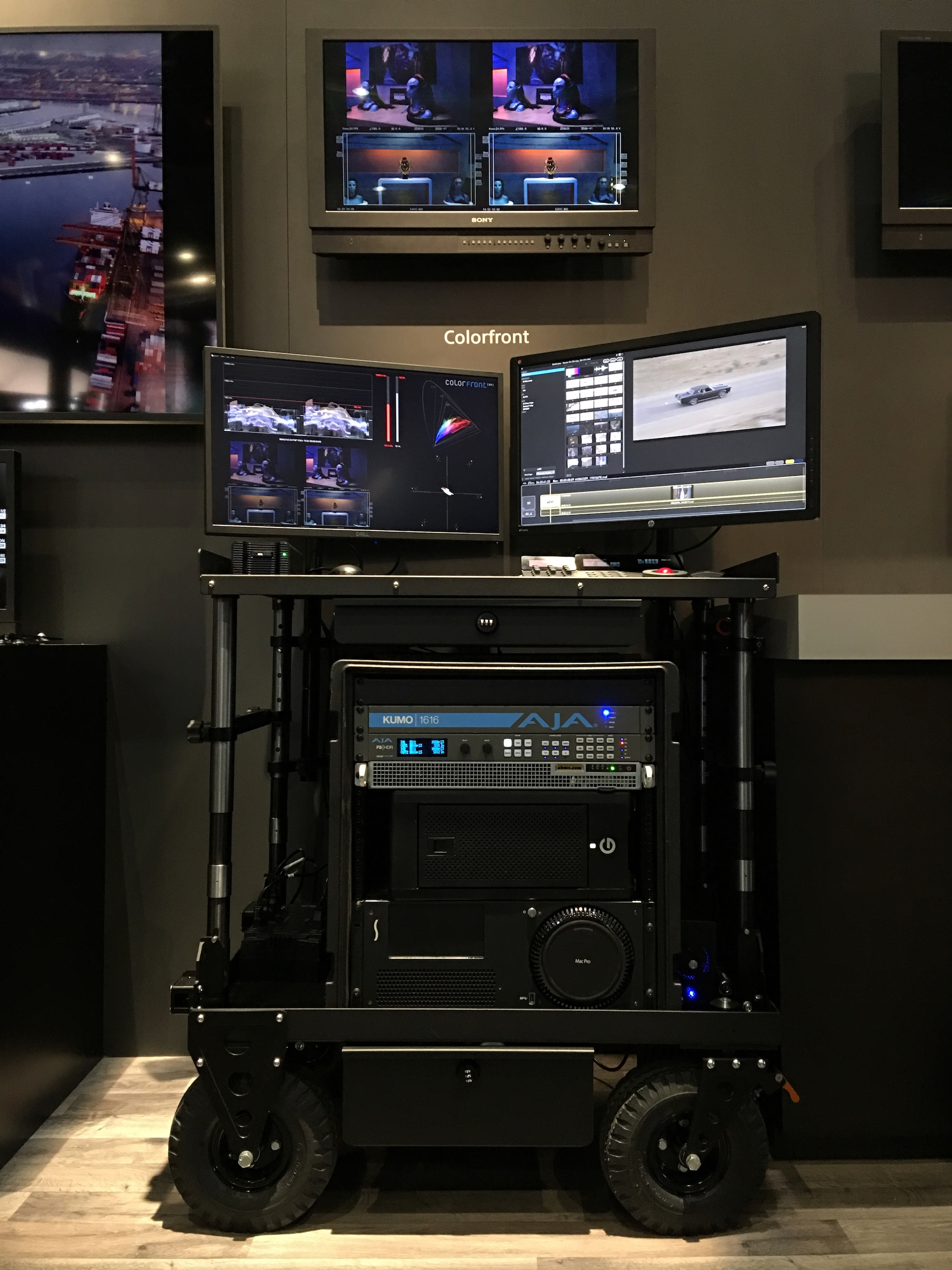 colorfront focuses on settoscreen color fidelity and 8k