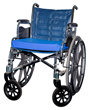 Casco Prevention Chair Pad on a wheelchair.