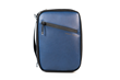 Developer's Gear Case — with full-grain blue leather accent
