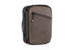 Developer's Gear Case — with full-grain chocolate leather accent