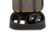 Developer's Gear Case — deep compartment holds bulky items and is big enough for headphones