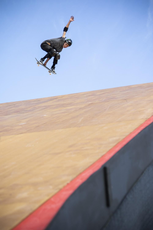 Monster Energy's Nyjah Huston Claims Gold in Skateboard