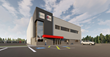 Artist Rendering of the New Wabash Canada and GoRight® Fleet Solutions Facility in Moncton, NB