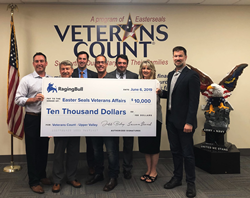 RagingBull.com Foundation donates $10,000 to Easterseals Veterans Count